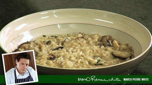 marco pierre white's mushroom risotto