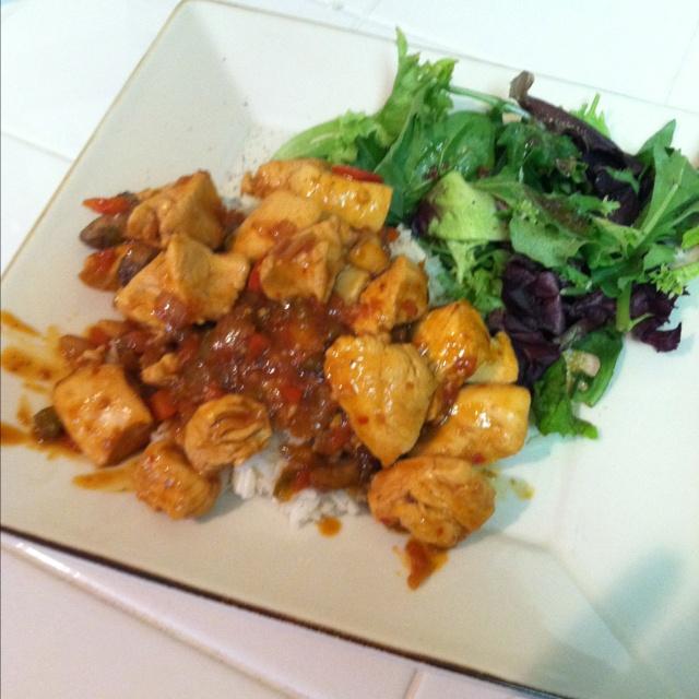 Korean BBQ chicken | Food | Pinterest