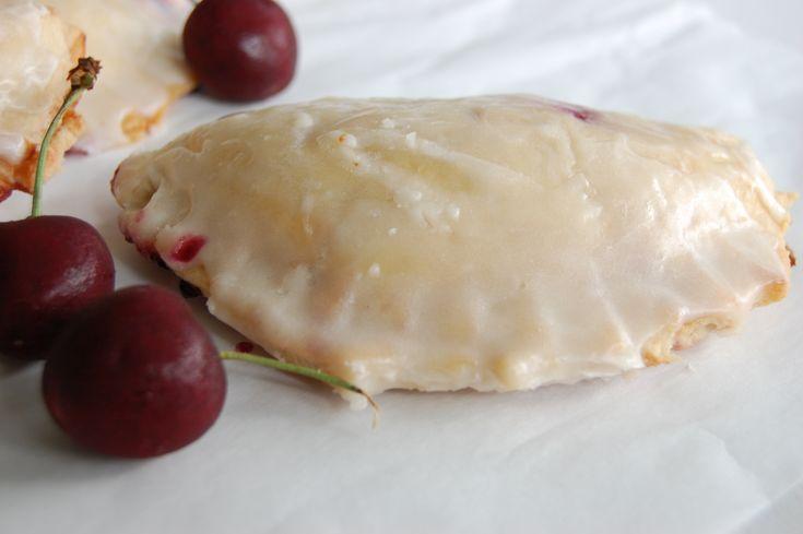 Cherry Rose Hand Pies - aka homemade Hostess cherry pies ***swoon***