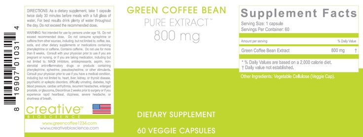 diet #health pure green coffee Pure Green Coffee Extract Capsules Dr ...