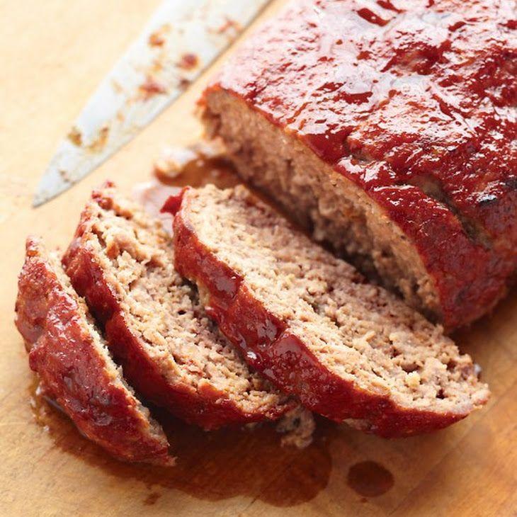 Glazed Meatloaf | my eats | Pinterest