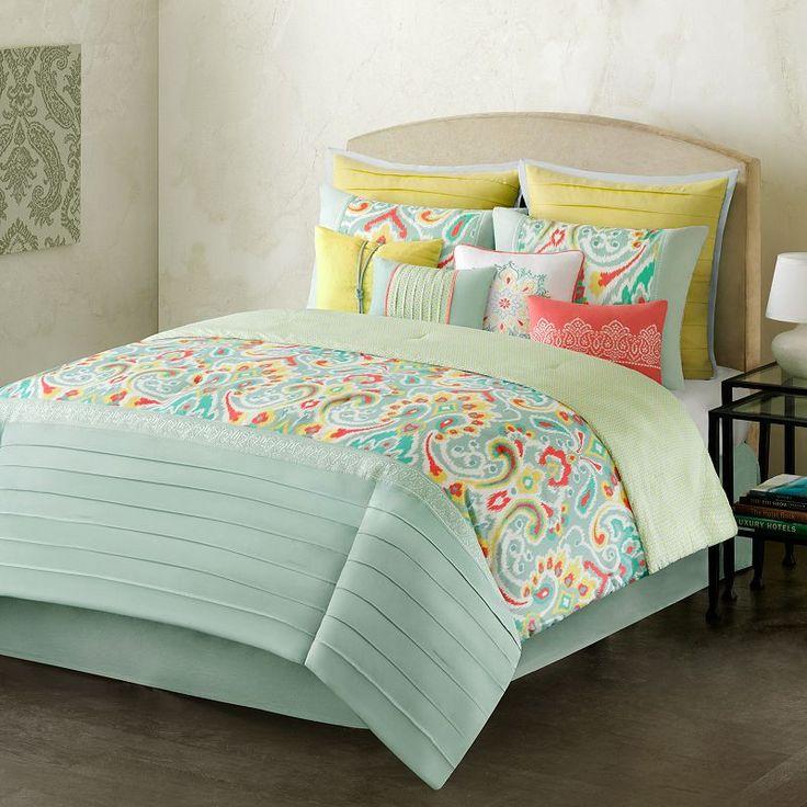 home classics interlude 10 pc comforter set queen