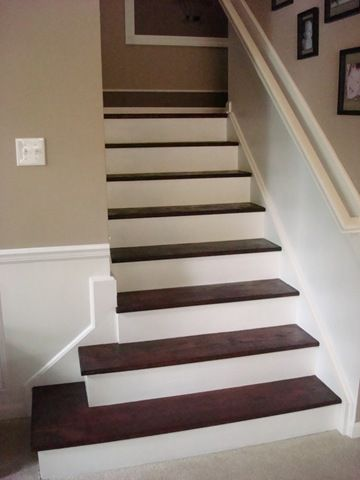 DIY Painted Stairs For The Home DIY Pinterest