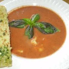 Rachel's Tomato Basil Soup Recipe | Yummly