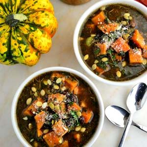 Hearty Black Bean and Pumpkin Soup Recipe- Simply Organic