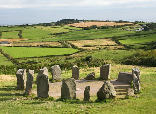Drombeg Stone Circle, Ireland. Would love to travel around the countrysides of Ireland. Breathtaking views!