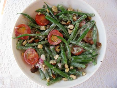 Tomato and Green Bean Salad   Soup & Salad   Pinterest