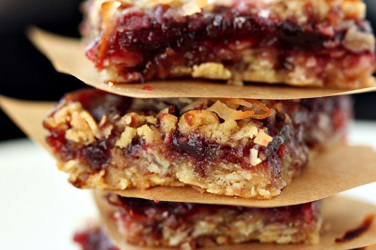 Oatmeal Coconut Raspberry Bars ~ 3 of my favorite foods!!! Ingredients ...