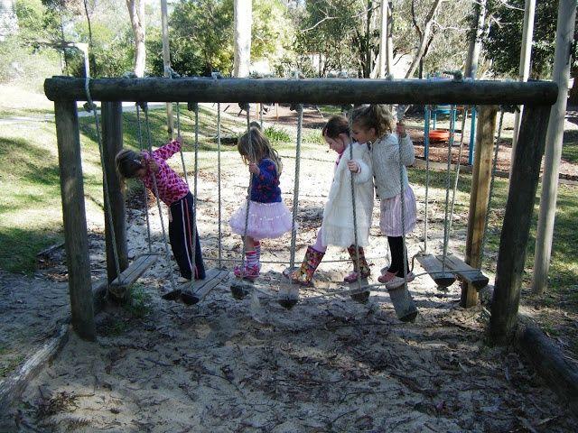 Backyard Ninja Warrior Design : More like this backyard obstacle course , bridges and obstacle course