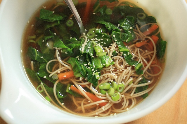 Soba Noodles in Ginger Broth | Recipes | Pinterest