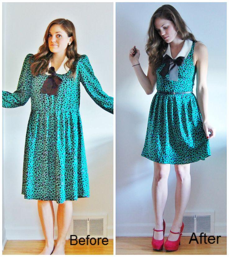 Переделки платья
