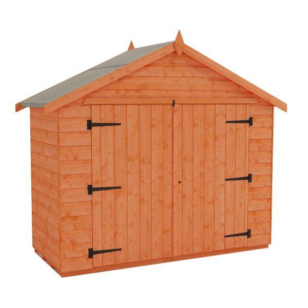 Bike storage shed wooden