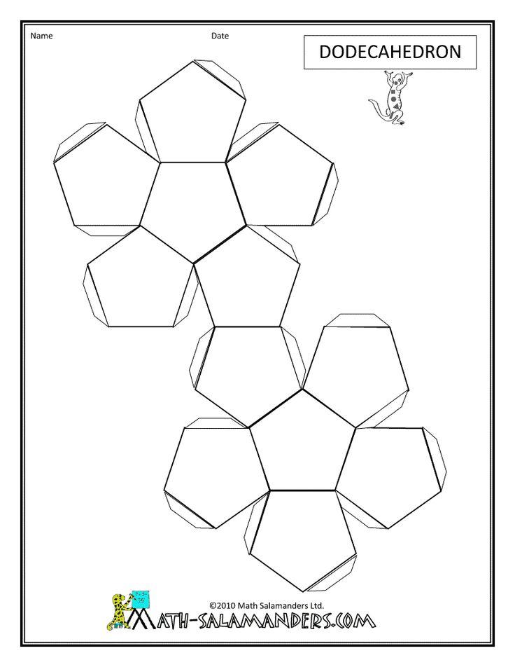 Объёмные геометрические фигуры своими руками 34