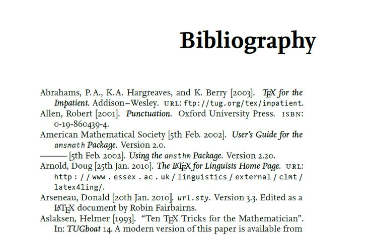 Bibliography How Images Frompo 1