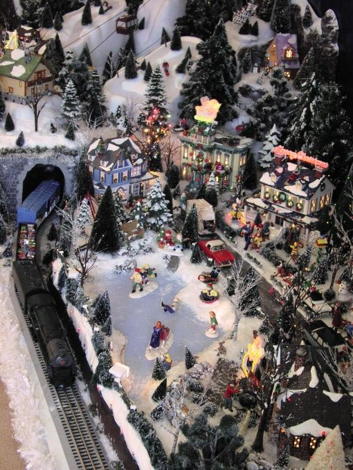 Christmas village ideas christmas snow village using dept 56 snow
