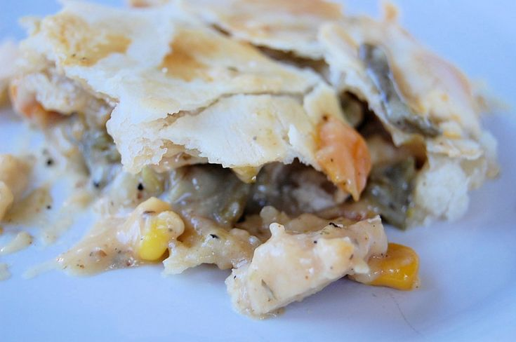 Cream Cheese Crusted Chicken Pot Pies with Root Vegetables | Recipe