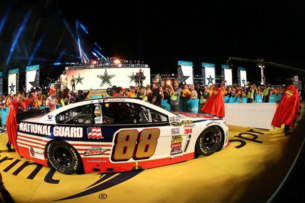 nascar all star race winner 2015