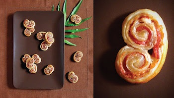 savory palmier with prosciutto, cheese, and dijon | Party food ...