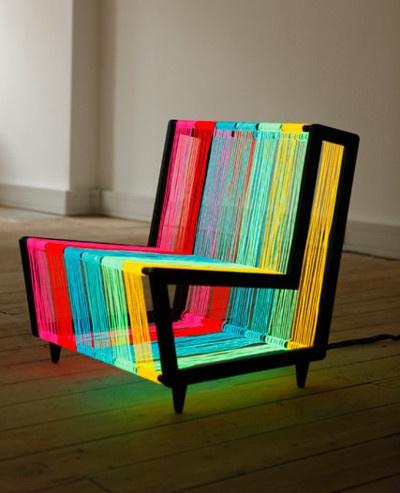 cmyk string chair.