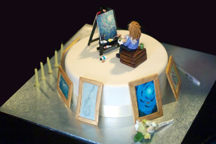 Cake Artist Cakes : Pin by Becky Thornton on Food Pinterest