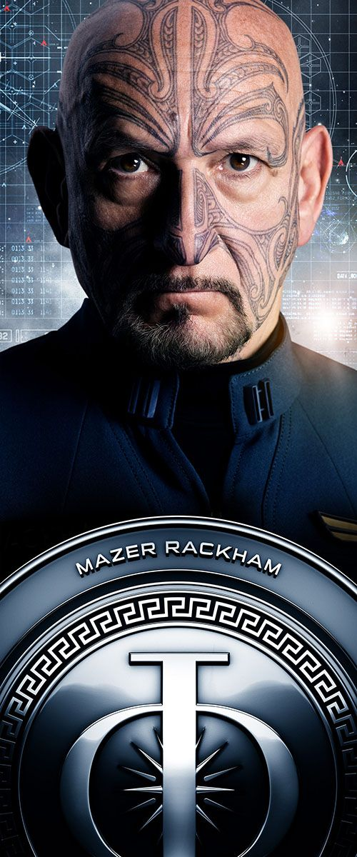 Mazer Rackham | Ender's Game | In Theaters November 1st