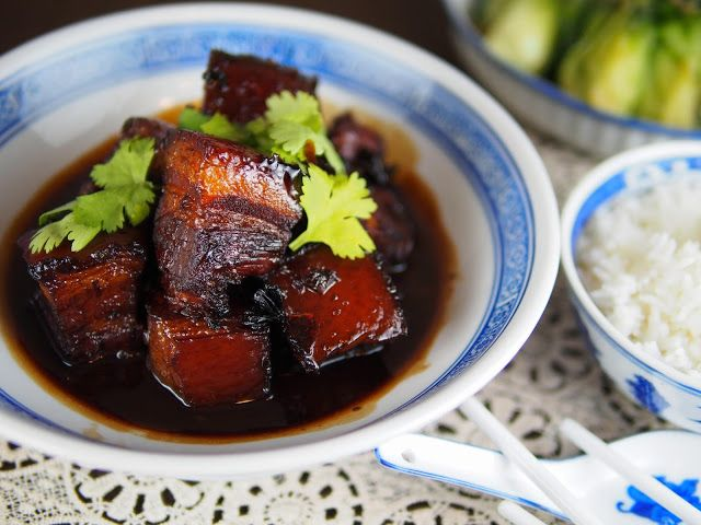 Red cooked pork belly | Recipes | Pinterest