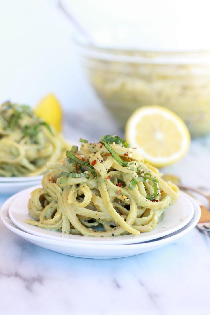 Creamy Avocado and Gouda Cheese Pasta | Recipe