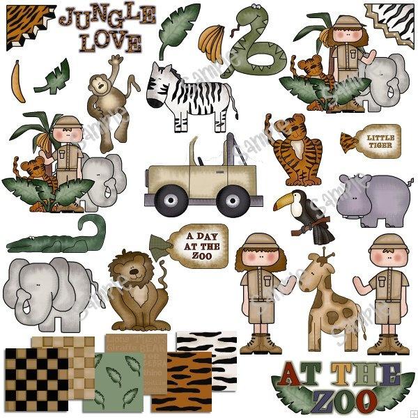 Jungle Safari Vbs: Scrapbooking/Crafts