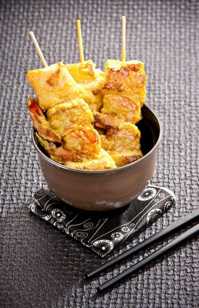 Chicken & Shrimp Thai Satay | Appetizers - Meat Bites | Pinterest