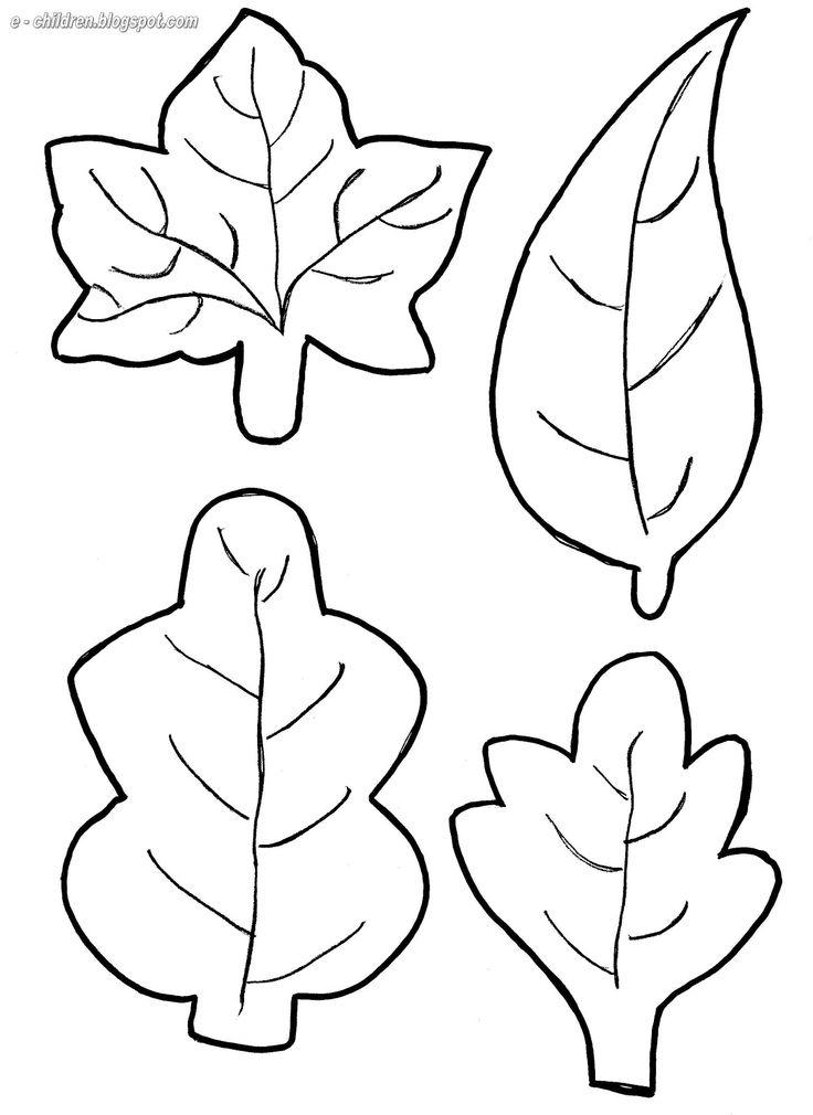 Παρόν φυλλα | Autumn crafts in kindergarten | Pinterest