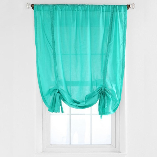 Diy Tie Up Curtain Projects For The Place Pinterest