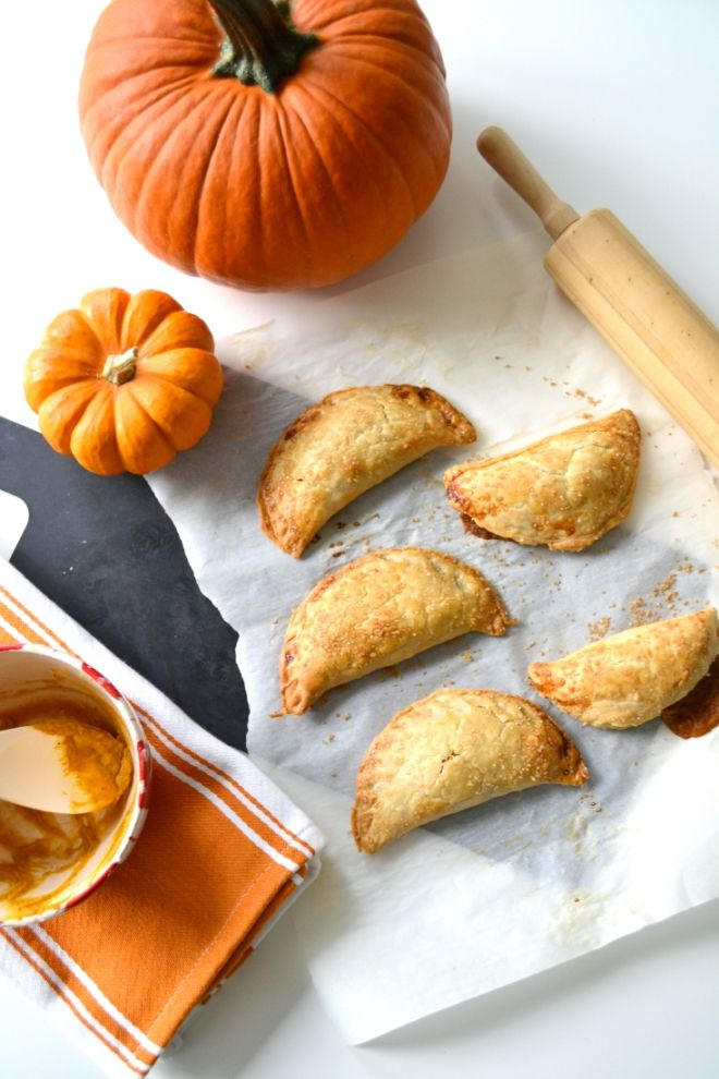 Pumpkin Treat: Pumpkin Mascarpone Hand Pies
