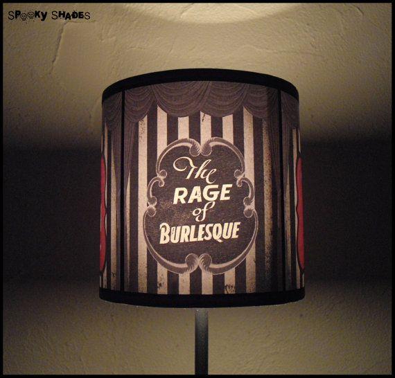 Burlesque Lampshade