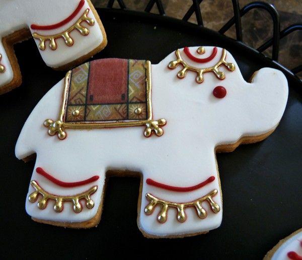 Indian Elephant Sugar Cookies