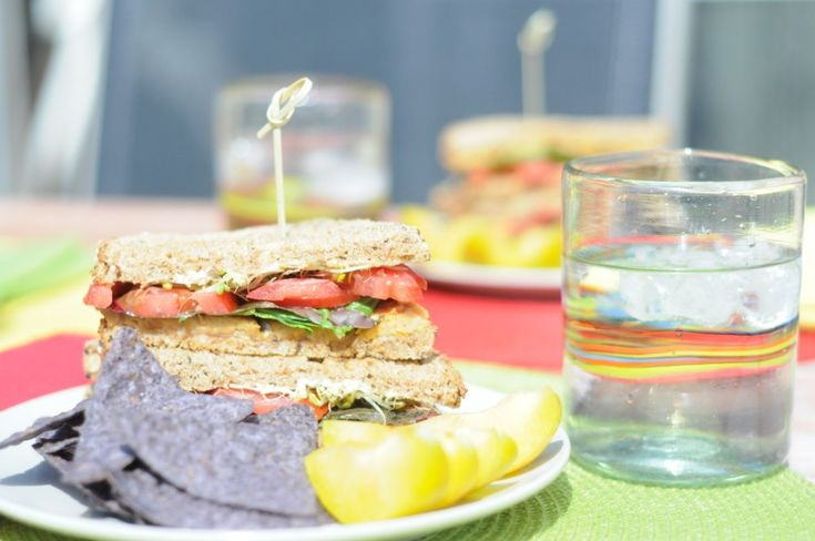 TLT Sandwiches—Tempeh Lettuce and Tomato | Entrees | Pinterest