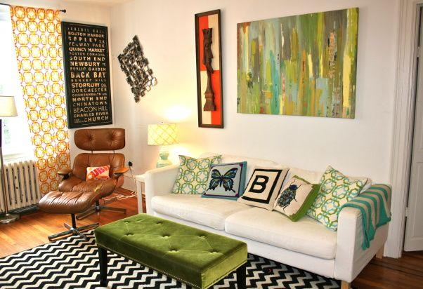 jonathan adler inspired living room mid century modern and jonathan