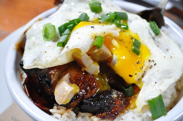 Tasty n Sons [Portland] - Burmese red pork stew ($10): with short ...