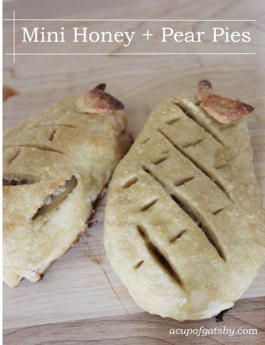 Mini Honey Pistachio Pies Recipe — Dishmaps