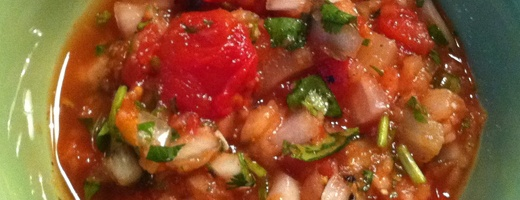Tomato Pineapple Salsa~ | Lovely Food | Pinterest