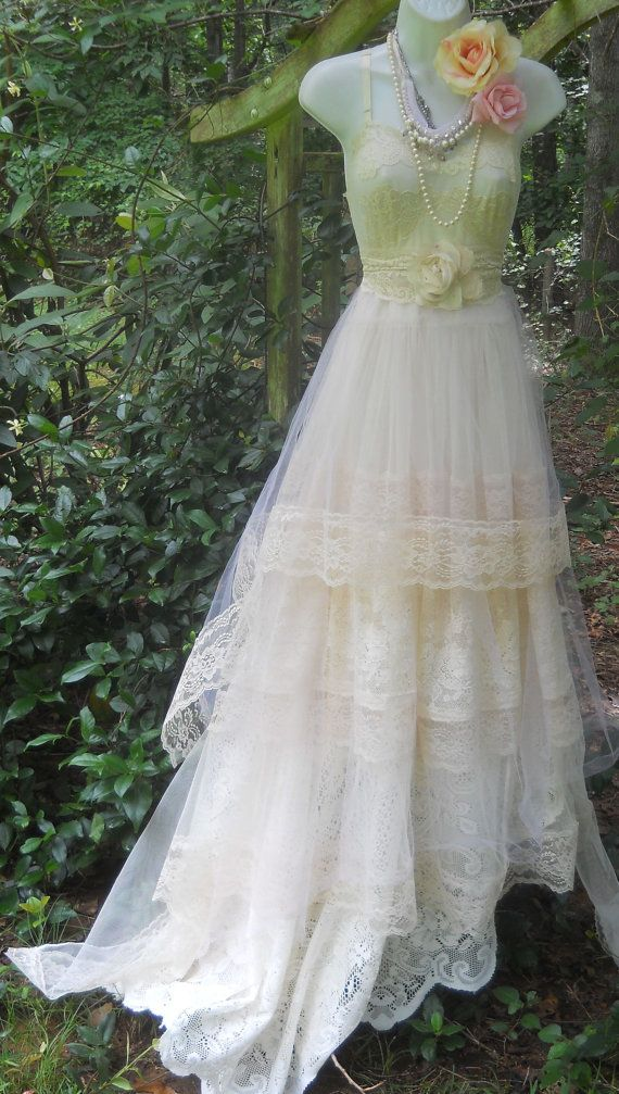 Pictures Of Shabby Chic Wedding Dresses : Lace long dress shabby chic jp i future wedding