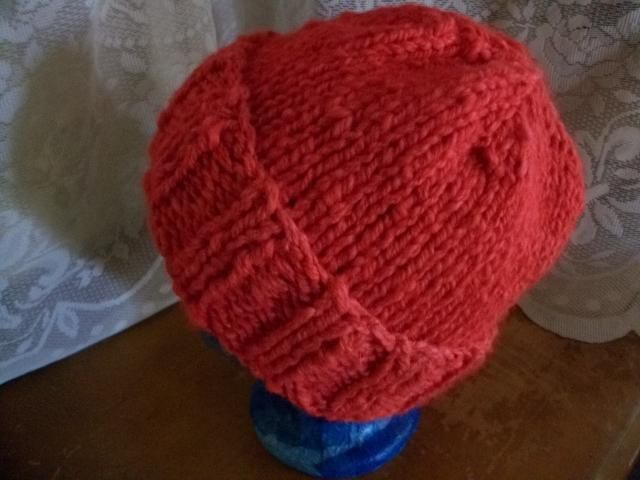 Easy Knitting Ideas For Adults : Easy knit adult hat patterns pinterest