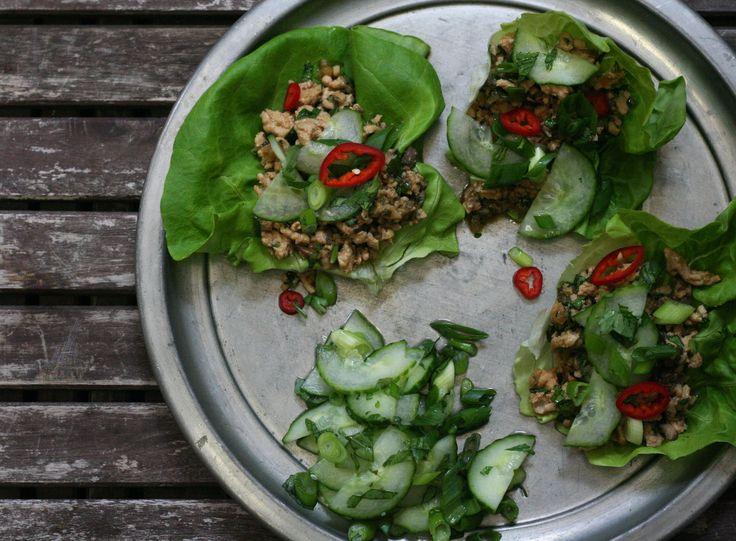 Thai Lettuce Wraps | Recipe