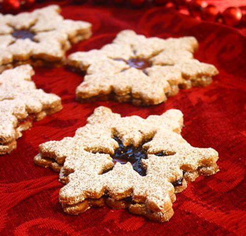 Linzer Sable | Cakes & Desserts | Pinterest