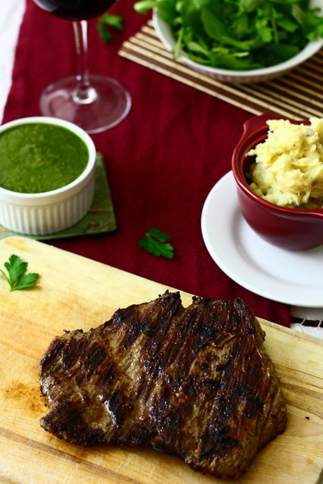 Cowboy Steak With Chimichurri Sauce Recipes — Dishmaps