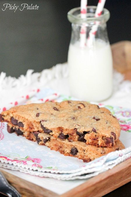 Brown Butter Salted Chocolate Chip Cookie for One, thank you @Rachel R ...