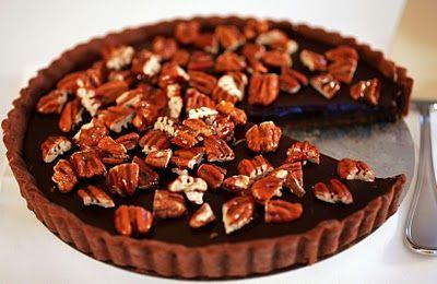 Tish Boyle Sweet Dreams: Sea-Salted Chocolate and Pecan Tart