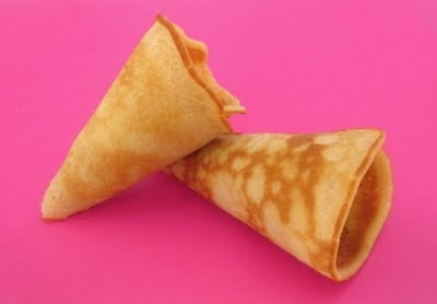 Homemade sugar (ice cream) cones | ICE CREAM | Pinterest