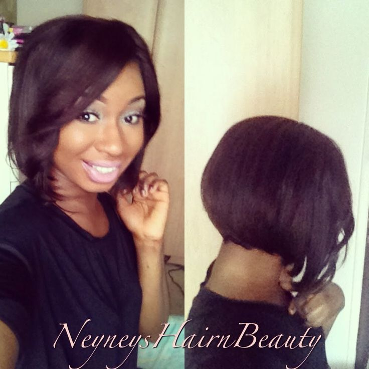 body wave hairstyle : Hair Life~Removable quick weave bob Quick weave Pinterest