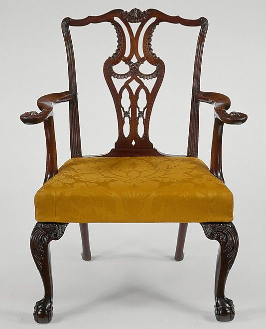 Colonial American armchair