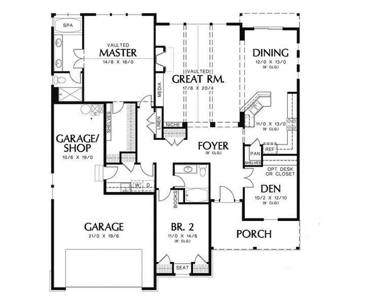 4 Perfect Images Arts And Crafts Bungalow Floor Plans